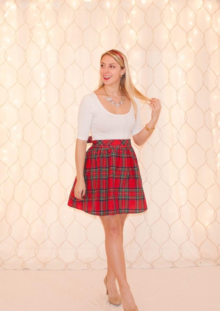 Tartan Skirt-1