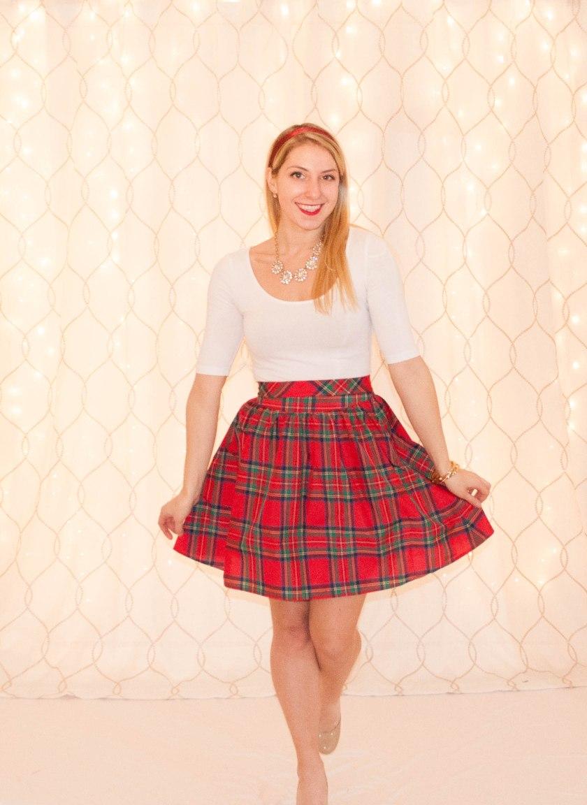 Tartan Skirt-6