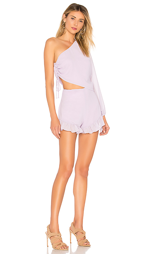 purple romper