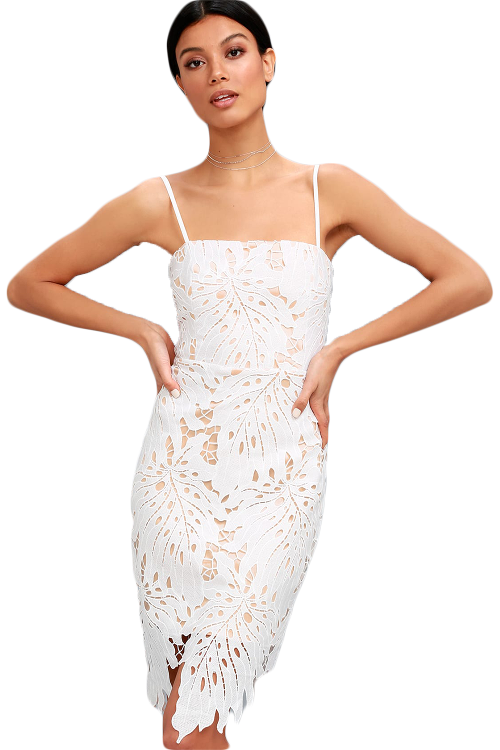WhiteBodycon