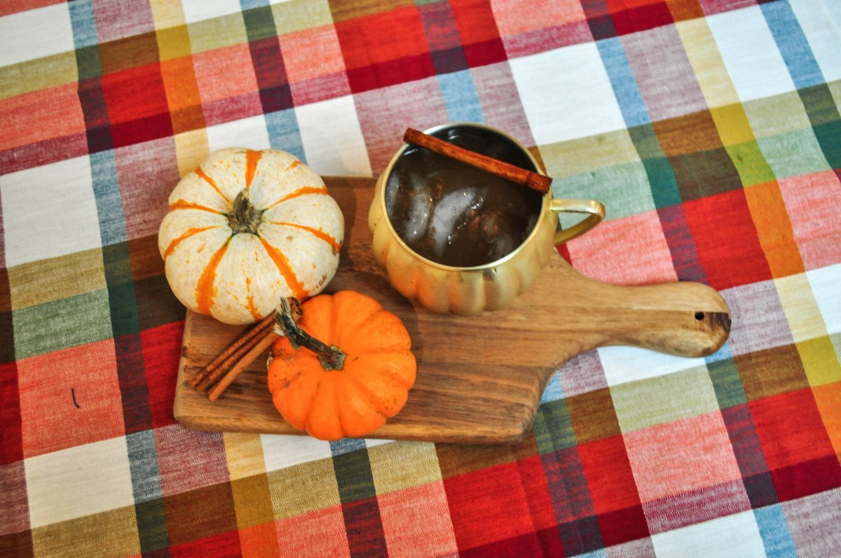 October's Mix: Pumpkin Spice MoscowMules